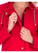 Lightweight Sporty Coat Ruby - Gallery Image 3