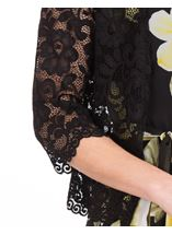 Lace Cover Up Black - Gallery Image 3