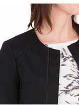 Anna Rose Cropped Open Jacket Black - Gallery Image 4