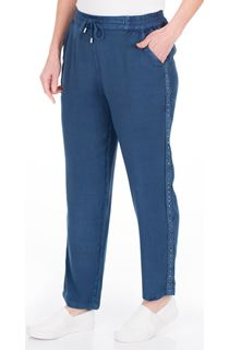 Anna Rose Pull On Embellished Trousers