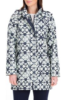 Anna Rose Waterproof Printed Coat