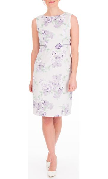 Anna Rose Printed Fitted Dress