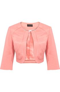 Anna Rose Cropped Open Jacket - Orange