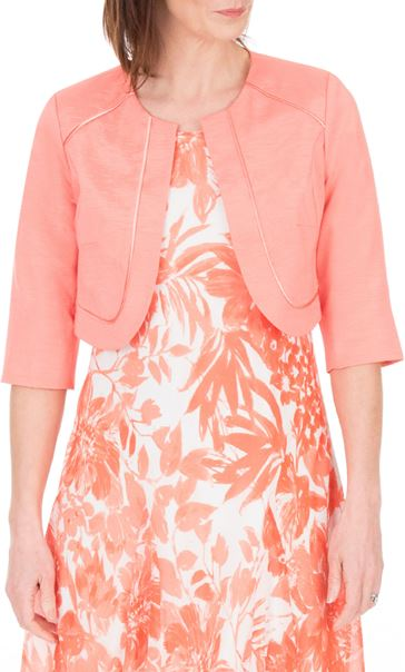 Anna Rose Cropped Open Jacket