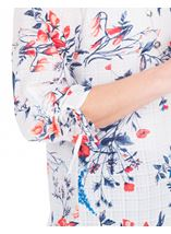 Anna Rose Floral Print Blouse With Necklace Multi - Gallery Image 4