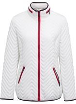 Anna Rose Lightweight Padded Coat White - Gallery Image 3