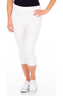 Slim Leg Cropped Trousers