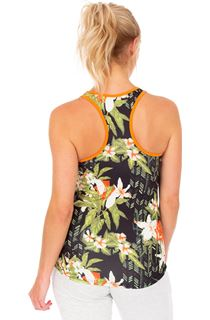 Printed Racer Back Gym Vest
