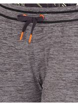 Cropped Jogging Bottoms Black - Gallery Image 3