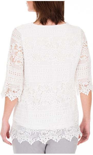 Anna Rose Lace Top