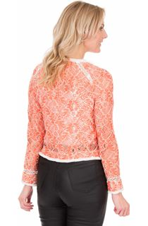 Long Sleeve Lace Jacket