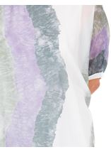 Printed Chiffon Layer Top Lilac/Olive - Gallery Image 3