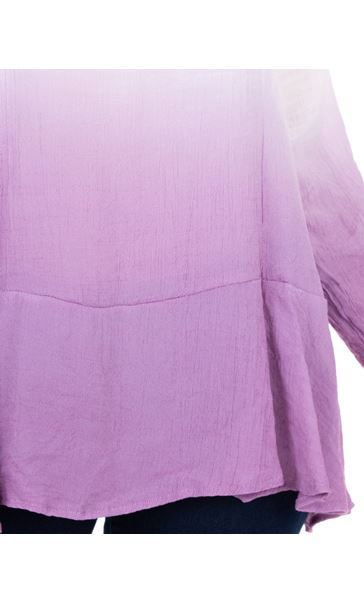 Long Sleeve Ombre Tunic Multi - Gallery Image 3