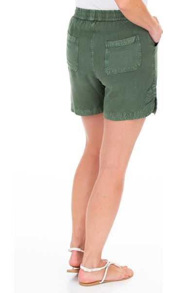 Pull On Shorts Khaki - Gallery Image 2