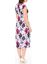 Anna Rose Floral Print Layered Midi Dress Multi - Gallery Image 2