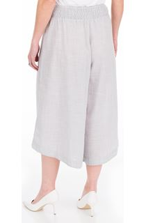 Striped Cotton Pull On Culottes