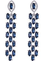 Teardrop Diamante Earrings