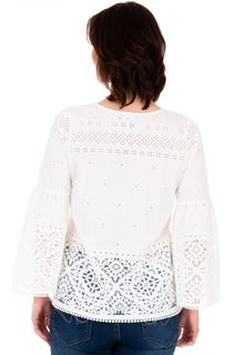 Long Sleeve Puffa Print Top