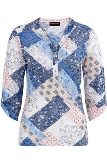 Anna Rose Lightweight Printed Top