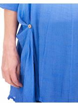Loose Fit Ombre Tunic Blue/White - Gallery Image 3