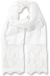 Lace Edge Lightweight Scarf