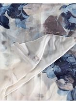 Anna Rose Printed Lightweight Scarf Blue - Gallery Image 2