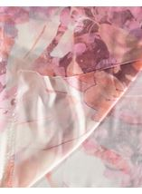 Anna Rose Printed Lightweight Scarf Pink - Gallery Image 2
