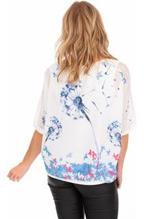 Printed Loose Fitting Top