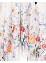 Floral Border Print Maxi Dress Multi Print - Gallery Image 3