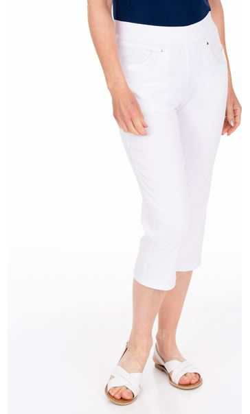 Anna Rose Pull On Cropped Trousers