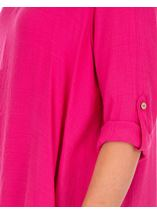Layered Crinkle Tunic Candy - Gallery Image 3