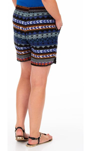 Printed Pull On Shorts