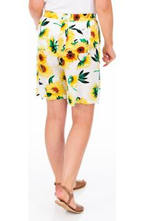 Sunflower Printed Pull On Shorts