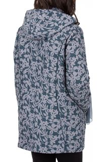 Anna Rose Printed Coat With Scarf