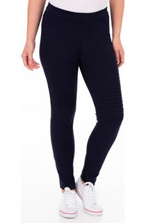 Full Length Ponte Leggings - Blue