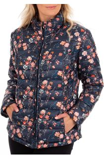 Anna Rose Pack Away Floral Coat