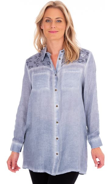 Washed Long Sleeve Shirt