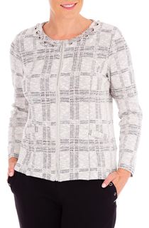 Anna Rose Checked Zip Jacket