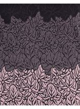 Anna Rose Knitted Jacquard Top Black/Dusty Pink - Gallery Image 4