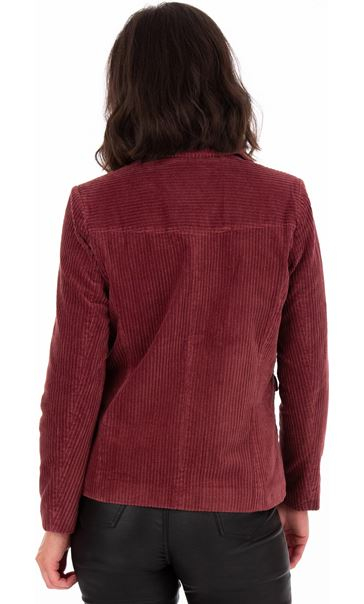 Cord Button Jacket
