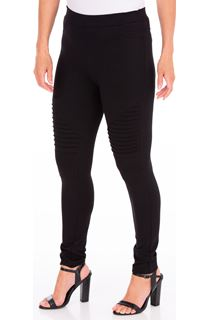 Full Length Ponte Leggings - Black