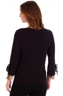 Long Tie Sleeve Top