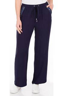 Anna Rose Embellished Wide leg Trousers