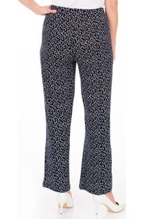 Anna Rose Wide Leg Spot Trousers