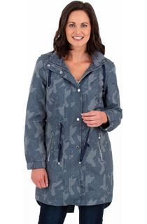 Printed Lightweight Coat