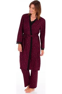 Animal Printed Dressing Gown
