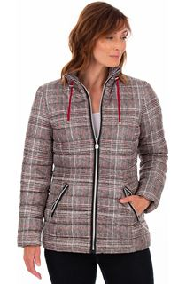 Checked Puffa Coat