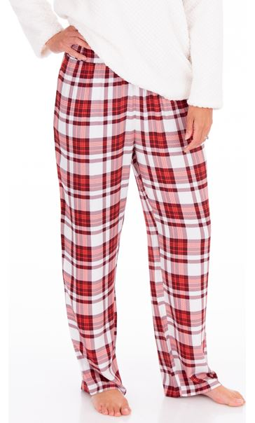 Checked Print Pyjama Bottoms