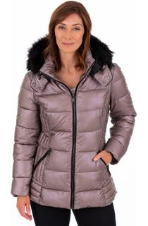 Pearlized Puffa Coat
