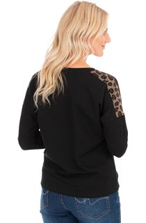 Animal Embellished Top
